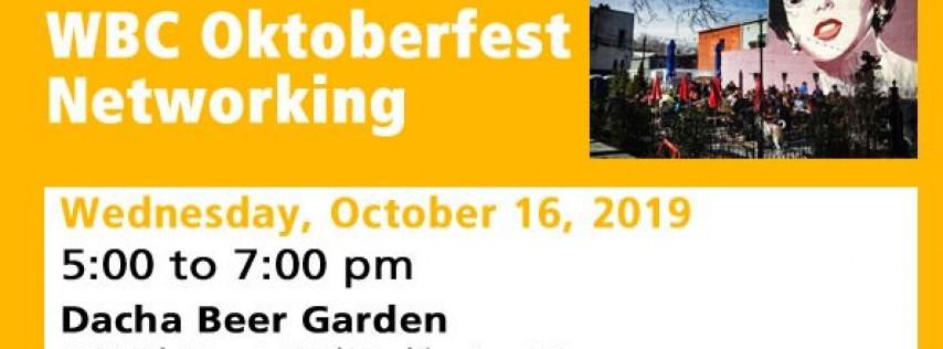 WBC Oktoberfest Networking