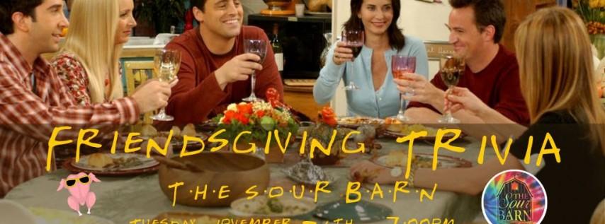 Friendsgiving Trivia at The Sour Barn