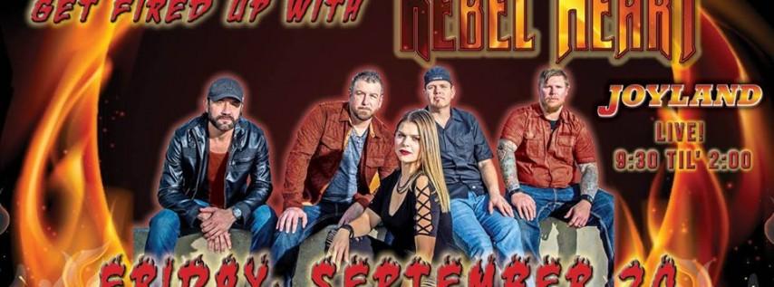 Rebel Heart back at Joyland on Fri Sept 20th