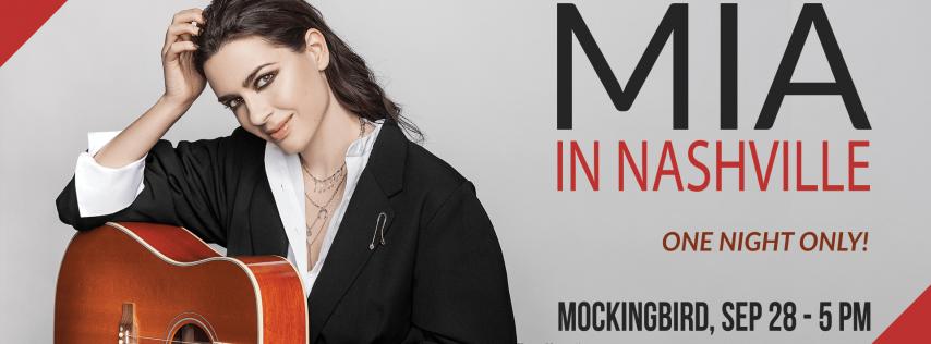 Mia, Croatian pop singer and songwriter