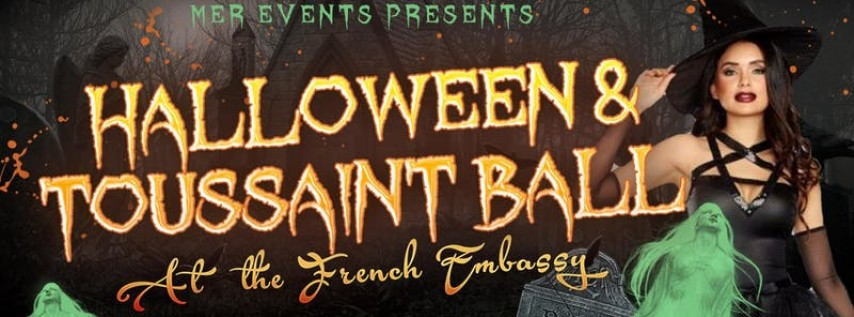 Halloween and Toussaint Ball At The Embassy of France