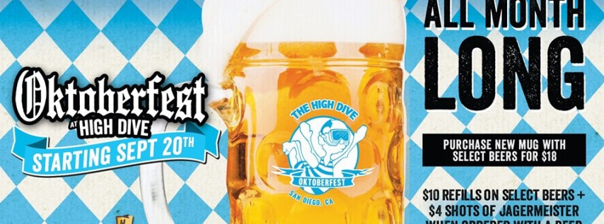 Oktoberfest at the High Dive