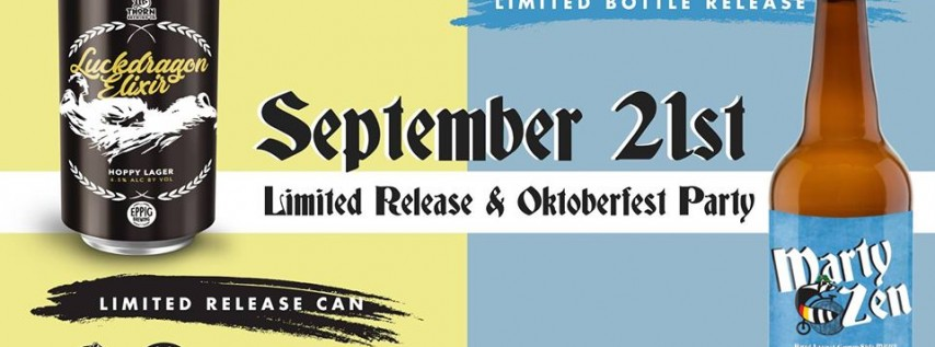 Oktoberfest Party and Limited Beer Release