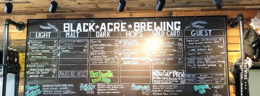 Beer/Chili Run - Black Acre - Part of the 2019 Indy Brewery Running Series