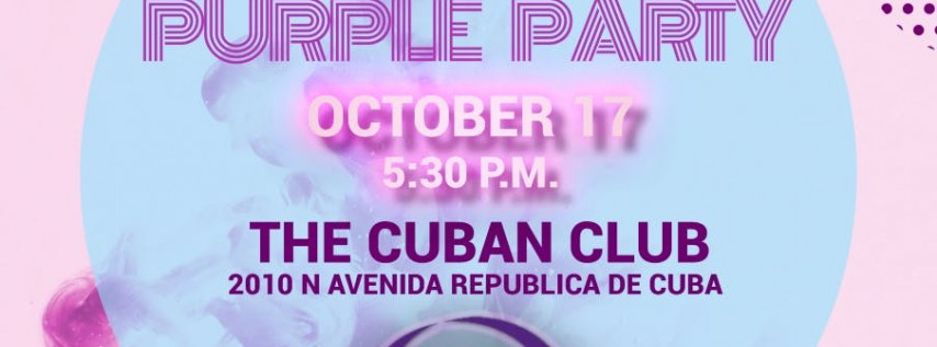 Are You Safe's 11th Annual Purple Party