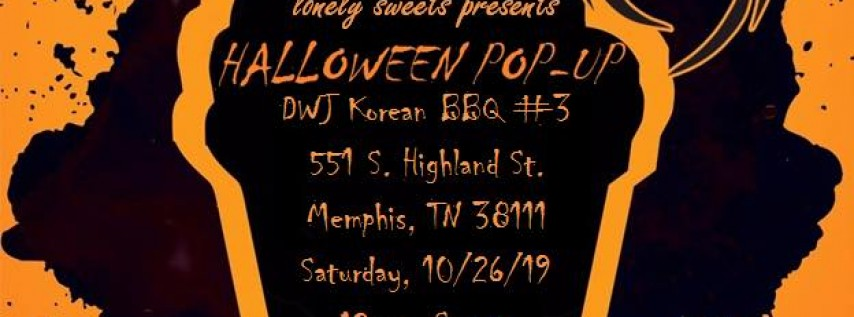 Lonely Sweets' Halloween Pop-Up