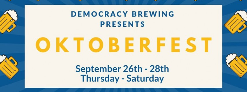 Democracy Brewing Oktoberfest
