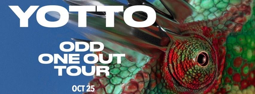 Halloween: Yotto Presents Odd One Out - Bijou, Boston
