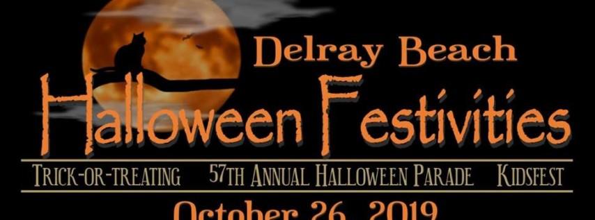 Delray Halloween Festivities