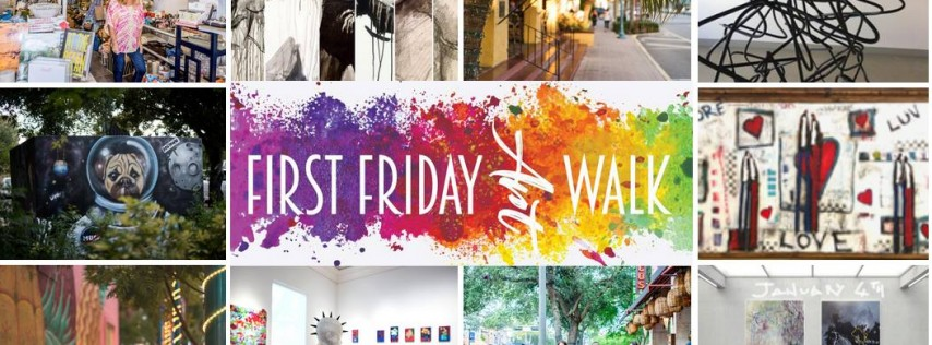 Downtown Delray Beach First Friday Art Walk