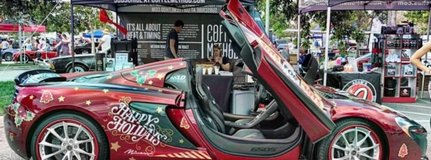 6th Annual Holiday Toy Drive at Cars & Coffee Palm Beach