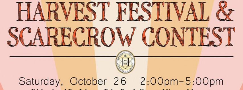 Harvest Festival and Scarecrow Contest
