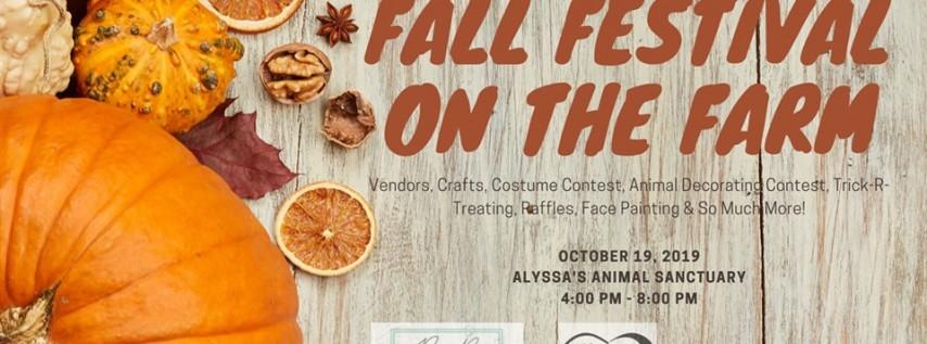 Fall Festival on the Farm