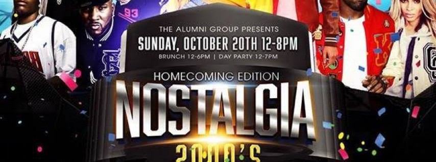 Nostalgia: The 2000's Brunch & Day Party - Homecoming Edition