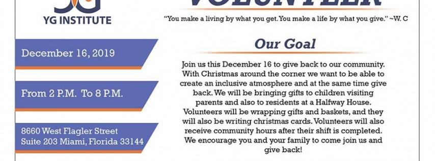 Christmas Volunteer Opportunity