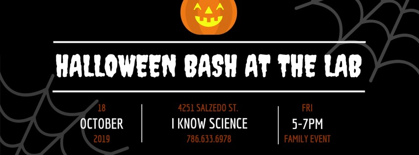 ANNUAL HALLOWEEN BASH AT THE LAB