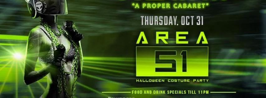 Area 51 Halloween Costume Party