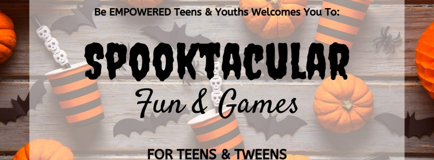 Spooktacular Fun & Games for Teens and Tweens