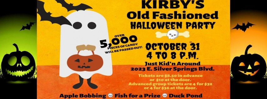 Kirby's Family Fun Halloween Party