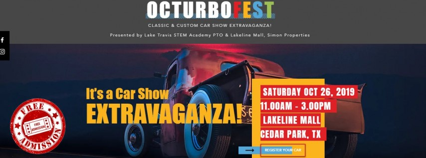 Octurbofest Classic & Custom Car Show Extravaganza - Vehicle Registration