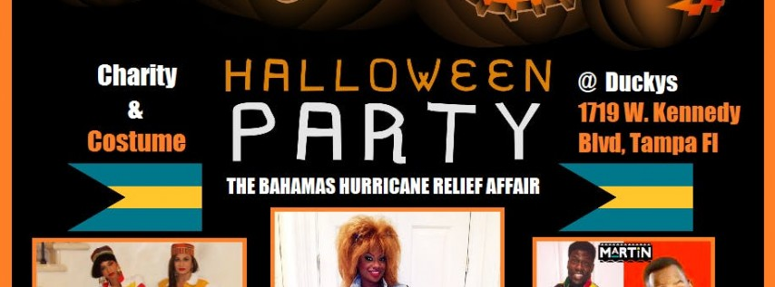 Goons, Goblins & Grown Folks: Free CHARITY Halloween Party 4 the Bahamas