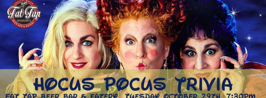 Hocus Pocus Trivia at Fat Tap Beer Bar and Eatery