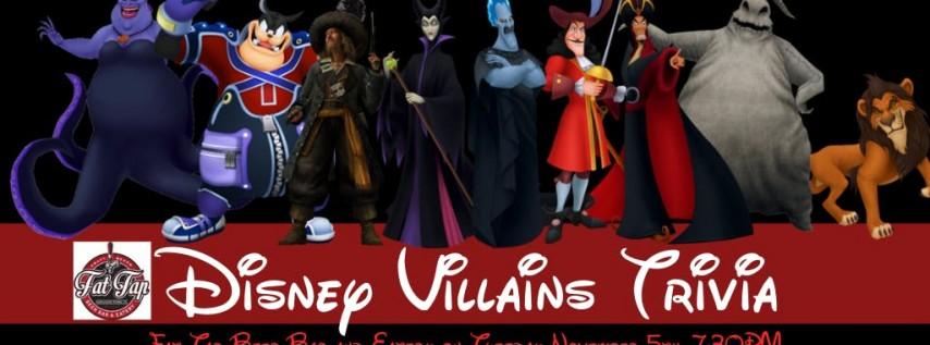 Disney Villains Trivia at Fat Tap Beer Bar & Eatery