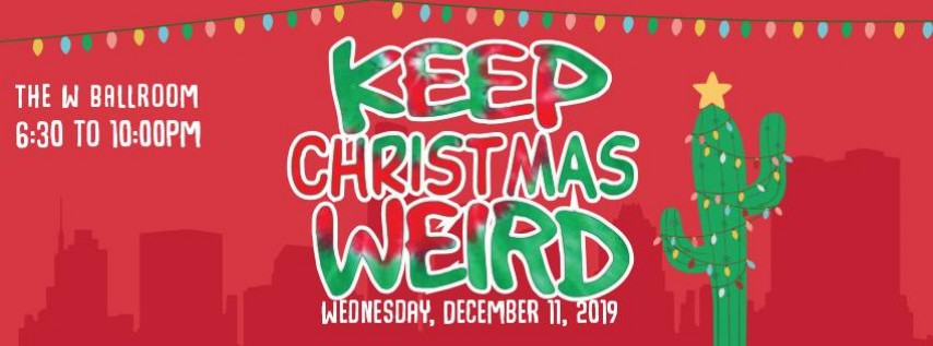 SAVE the DATE- AMBA: Keep Christmas Weird Party