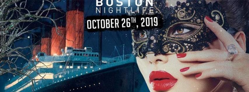 Titanic Masquerade - Pier Pressure Boston Halloween Party