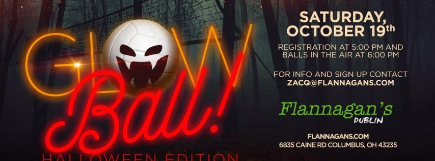 All Hallows' GLOWball Tournament