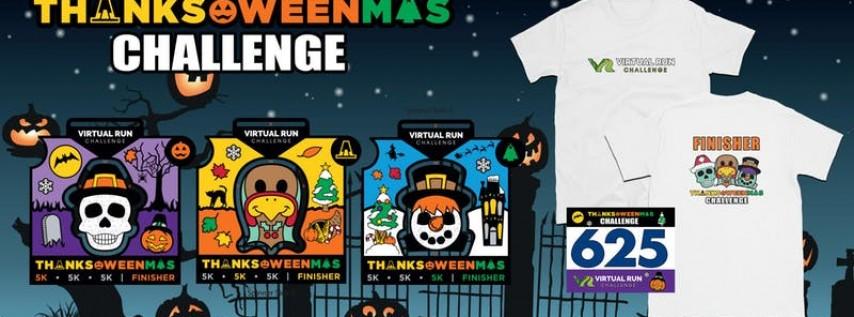 2019 - Thanks-Oween-Mas Virtual 5k Challenge - Jersey City
