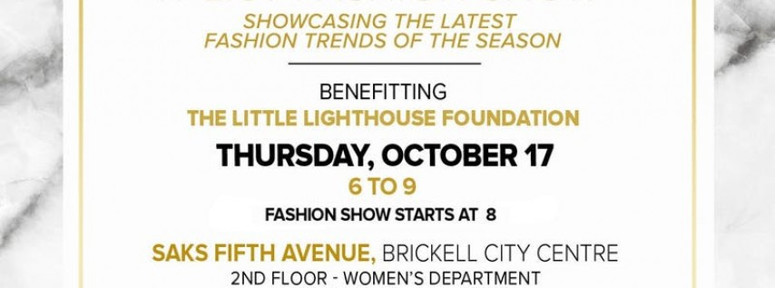 LLF Fashion Show at Saks Fifth Avenue 2019