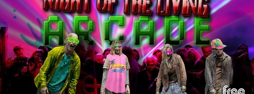 Night of the Living Arcade! Arlington Halloween!