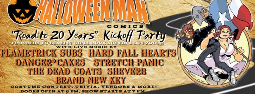 Halloween Man Comics 'Road to 20 Years' Party
