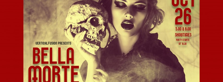 Bella Morte (8:00 Show): Halloween Pole and Aerial Dance Show and Halloween Part