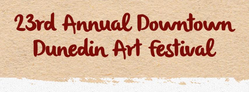 23rd Annual Downtown Dunedin Art Festival