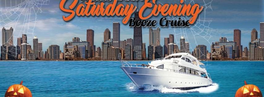 Halloween Saturday Evening Booze Cruise aboard Mystic Blue on October 26th