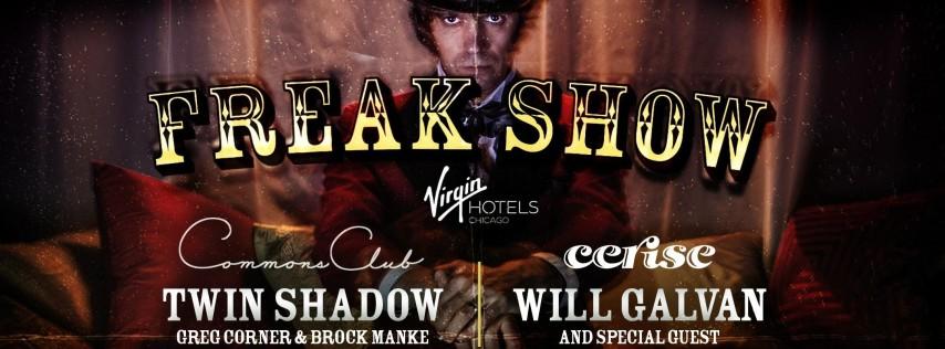 Freak Show Halloween At Virgin Hotels Chicago