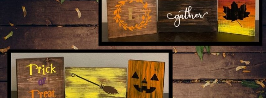 Fall + Halloween Trios