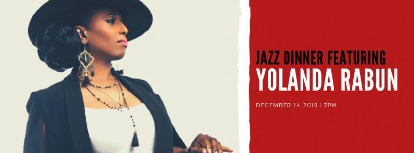 Jazz Dinner featuring Yolanda Rabun