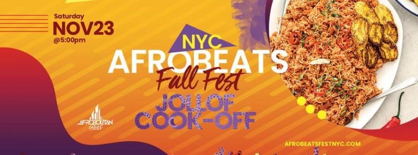 NYC Afrobeats Fall Fest & Jollof Cook-Off