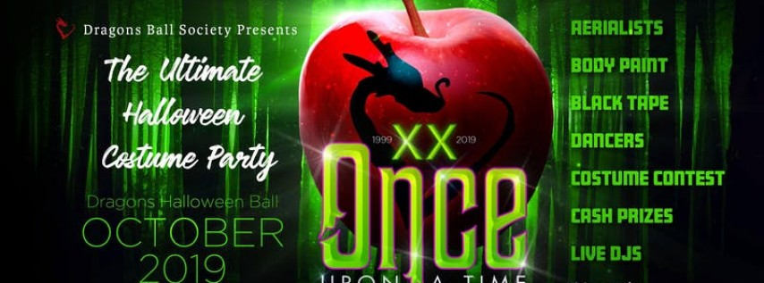 2019 Dragons Halloween Ball 'Once Upon A Time' 20t