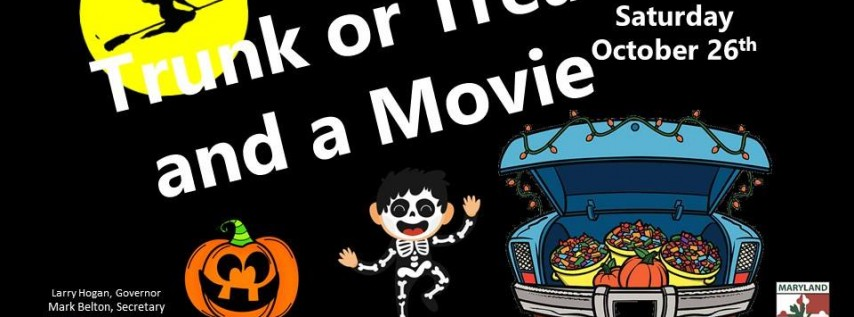 Trunk or Treat and a Movie