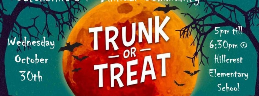 Catonsville 1st Annual Community 'Trunk or Treat'