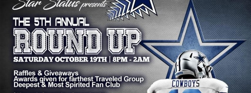 Star Status Presents The 5th Annual Round Up
