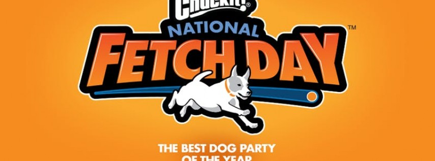 Chuckit!® National Fetch Day Official Arlington Party