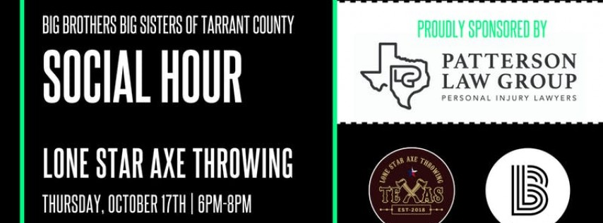 BBBS Tarrant | Lone Star Axe Throwing Event