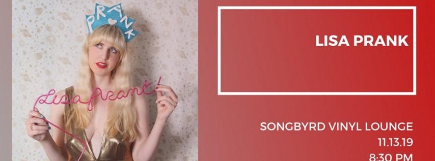 Lisa Prank | Talulah Paisley at Songbyrd Vinyl Lounge