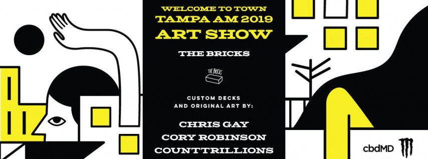 Welcome to Tampa Am 2019 Art Show