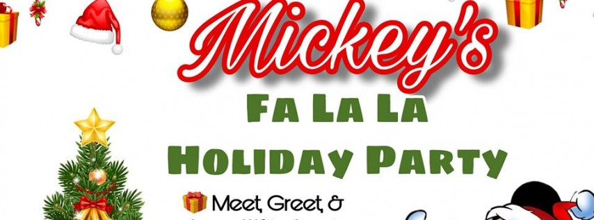 Mickey's Fa La La Holiday Party December 7th